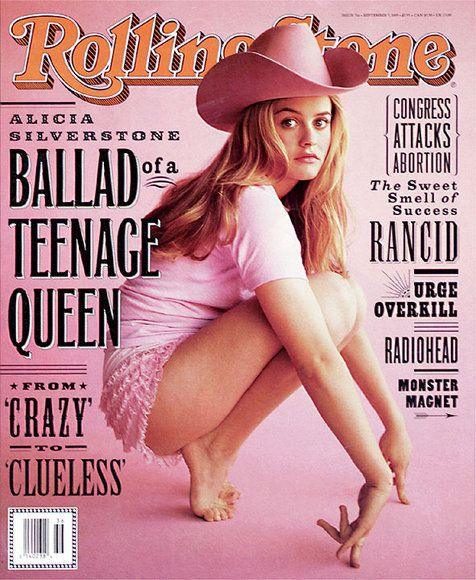 Alicia Silverstone the 90s teen queen. One of the best actresses of her age then. Rolling Stone