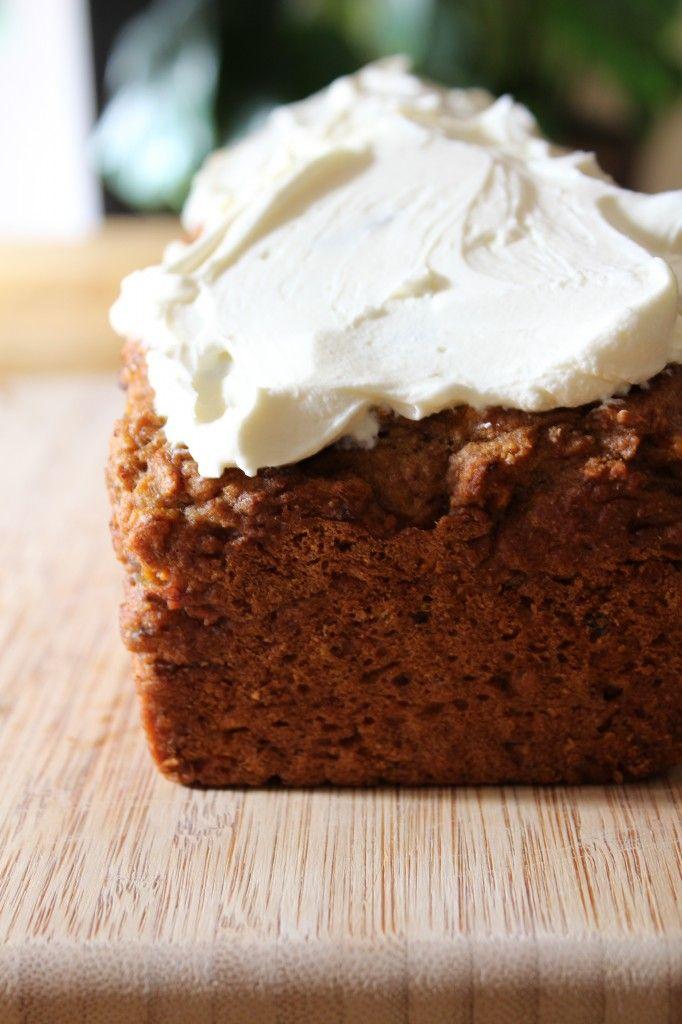 Gezonde variant op de carrotcake