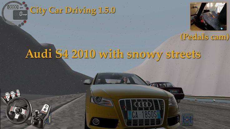 City Car Driving 1.5.0 Audi S4 2010 [Neve] [Logitech G27]
