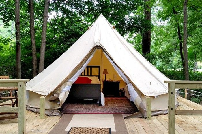 These 7 'Glampsites' In Pennsylvania Will Give You An Unforgettable Experience