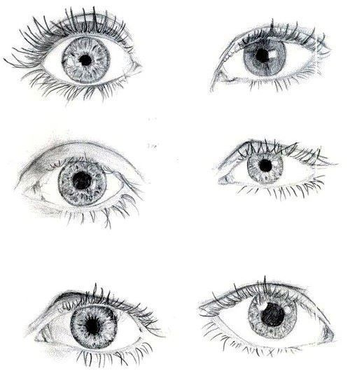 I Love Sketching Eyes But I Always Only Do One Glad