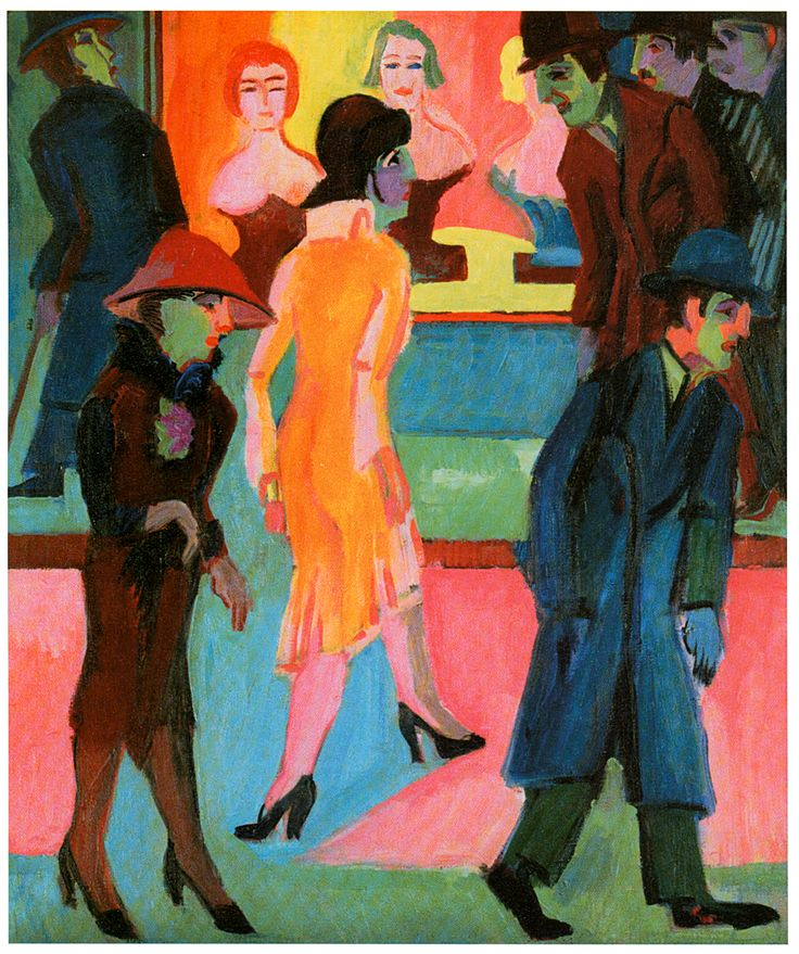 ernest kirchners streetwalkers paper