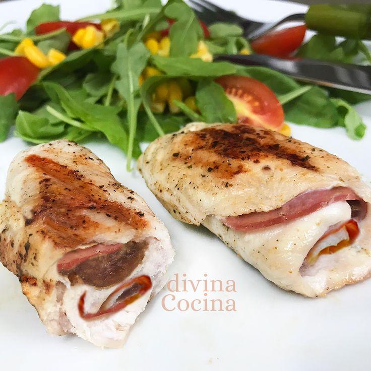 rollitos de pollo bacon datiles 1