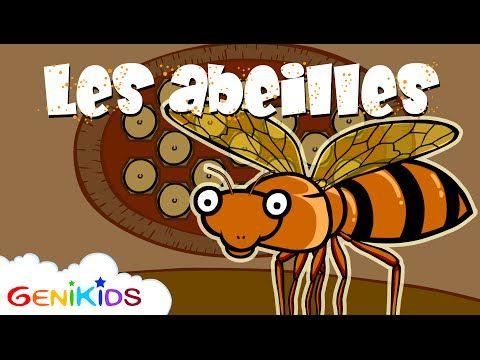 ▶ Le secret des abeilles - Dessin animé éducatif Genikids - YouTube