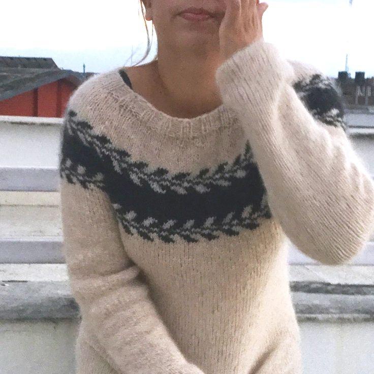 Knitmandu: TA DAAAAAA - Marygenser til mig selv!!!