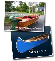 Buckhorn Canoe Company - Builder and Restorer of Traditional Wood, Canvas and all Wooden Canoes and Boats   Used Canoes and Boats for sale