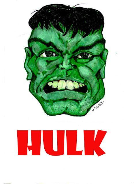 Hascunhos: O INCRÍVEL HULK