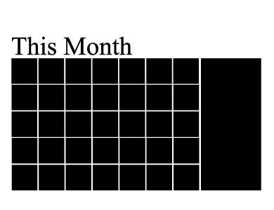 kuukausi tarra