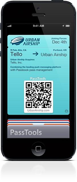 Urban Airship Acquires Tello ref Apple passbook