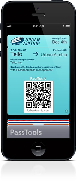 Urban Airship Acquires Tello ref Apple passbook