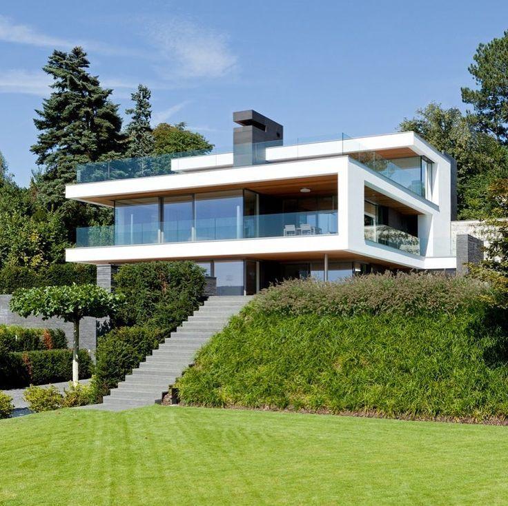 Einfamilienhaus Erlenbach Architecture Archilovers Design Interiordesign Minimal House Architecture Design Residential Architecture Facades Architecture