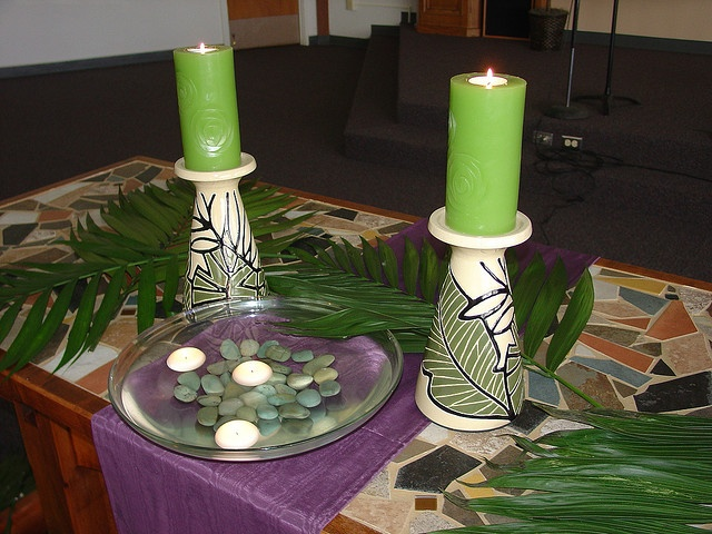 Palm Sunday Altar Could Do This On A Small Table Or Kitchen Table For Holy  Week