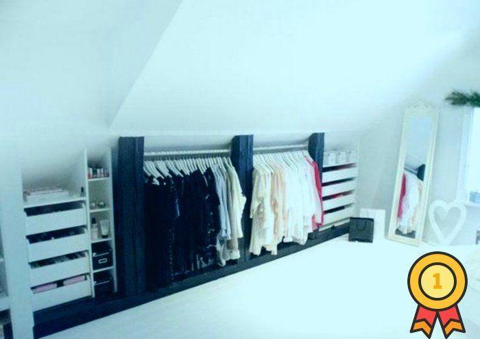 Schlafzimmer Dekor Skandinavisches Design Kleiderschrank