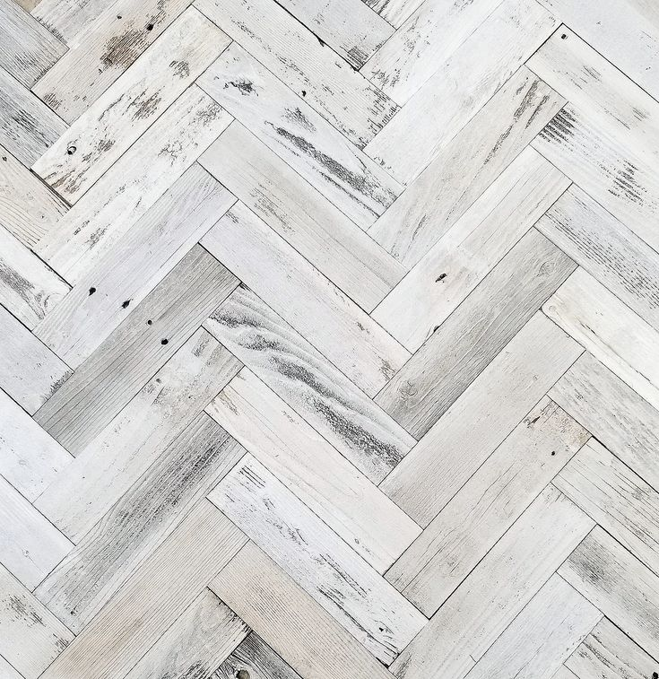 Herringbone Reclaimed Barnwood Wall Planks - Simple Peel ...