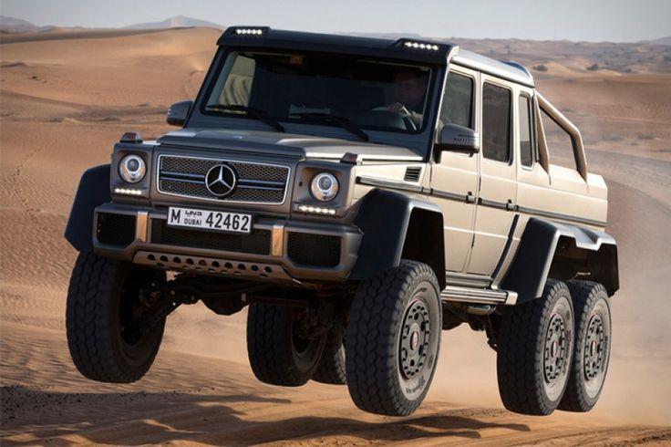 Mercedes-Benz G63 AMG 6×6: A 4X4 már nem menő, legalábbis a Közel-Keleten. Az arab olajsejkek már 6X6-os hobbiautókra vágynak, így a Mercedes-Benz egy brutális, a G-osztály alapjaira épített luxusterepjáró kedveskedik nekik. A teljes cikk ütős videóval >>> www.woohooo.hu/jarmuvek/auto/mercedes-benz-g63-amg-6-6-brutalis-luxus-terepjaro