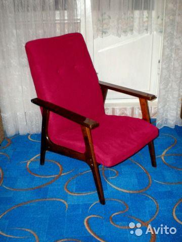 Винтажное кресло СССР— фотография №1