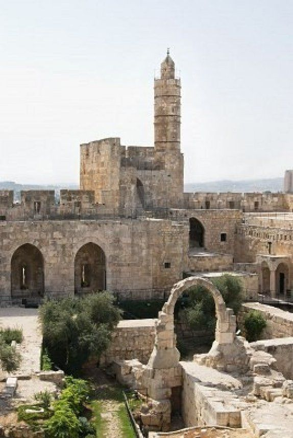 ::::ﷺ♔❥♡ ♤✤❦♡  ✿⊱╮☼ ☾ PINTEREST.COM christiancross ☀ قطـﮧ‌‍ ⁂ ⦿ ⥾ ❤❥◐ •♥•*⦿[†] ::::  Tower Of David ~ Jerusalem, Israel