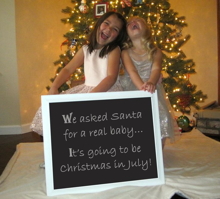 Baby Announcement for 3rd child