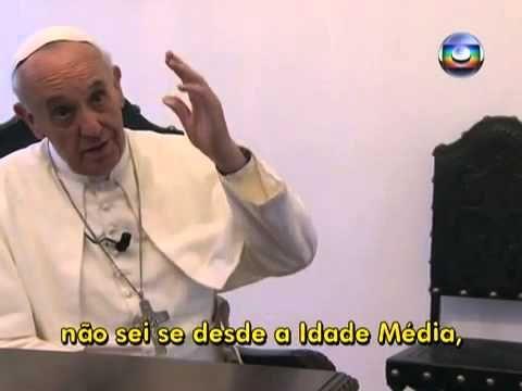 Entrevista Papa Francisco na Globo Fantástico, por Gerson Camar