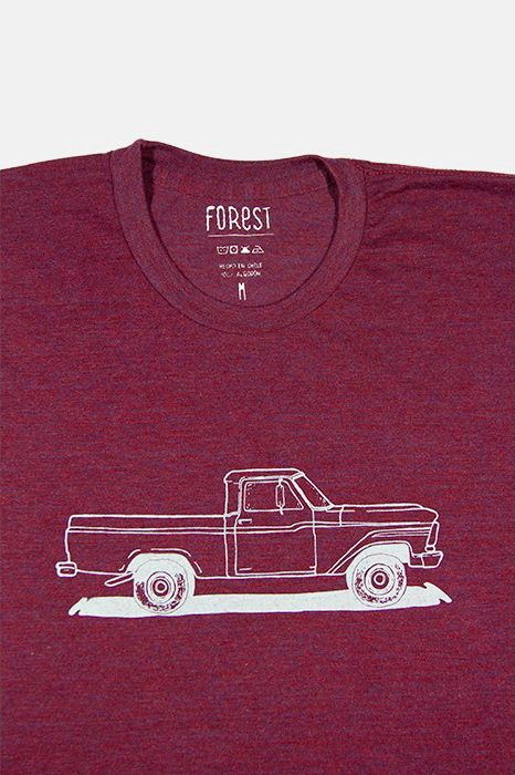 Camioneta Ford 1950 por Forest  http://followtheforest.com/poleras/202-camioneta-ford-1950-por-forest.html