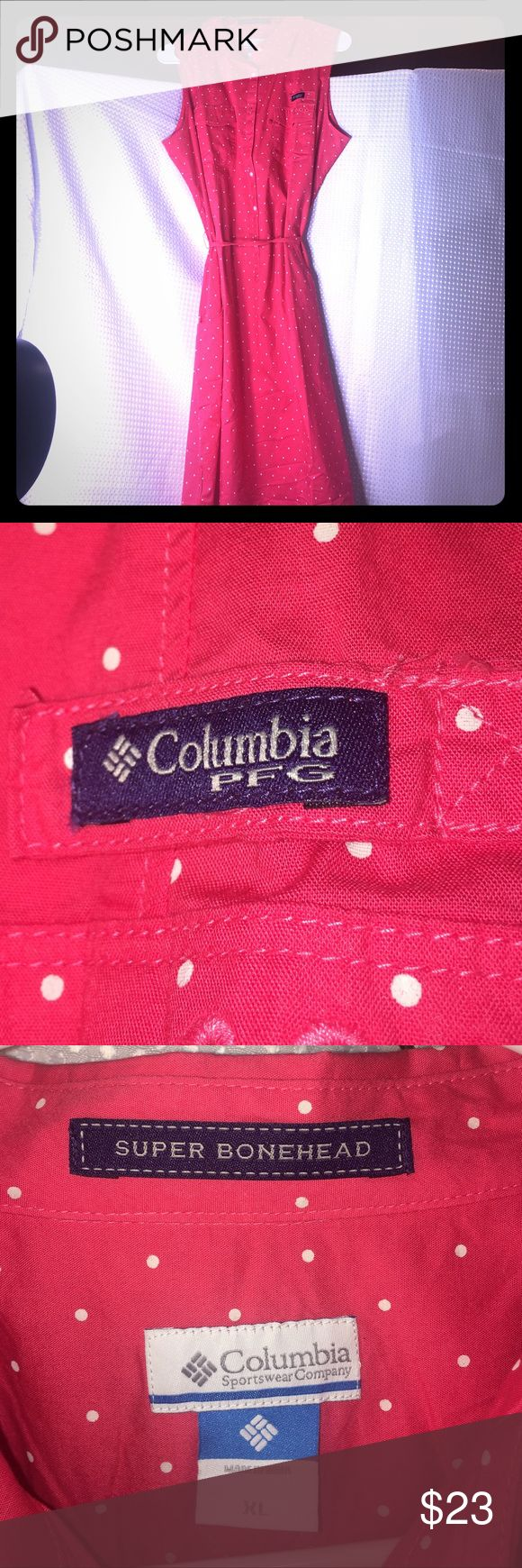 Columbia bright red dress! So sophisticated! Columbia sportswear company bright red dress size XL --in perfect condition Columbia sportswear company Dresses