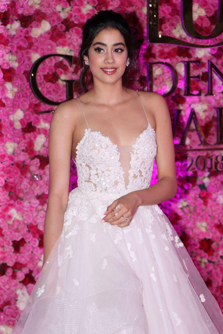 Janhvi Kapoor looks radiant at the Lux Golden Rose Awards