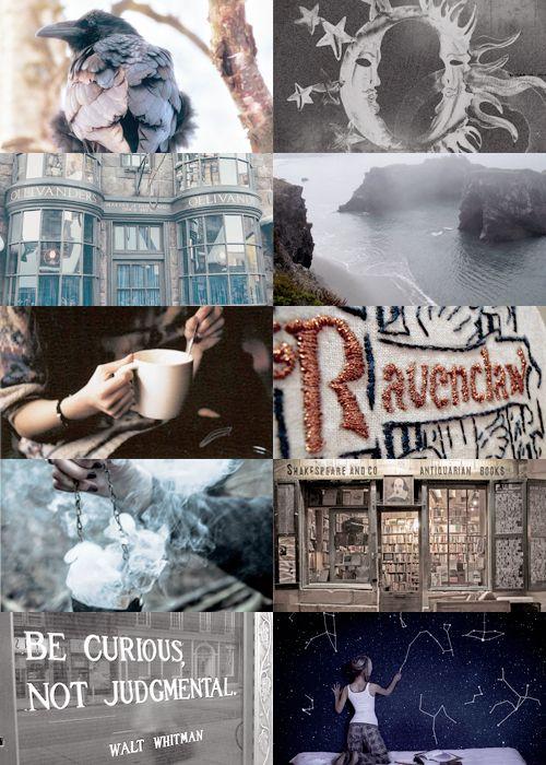 """""""hp aesthetics ↳ Ravenclaw """""""