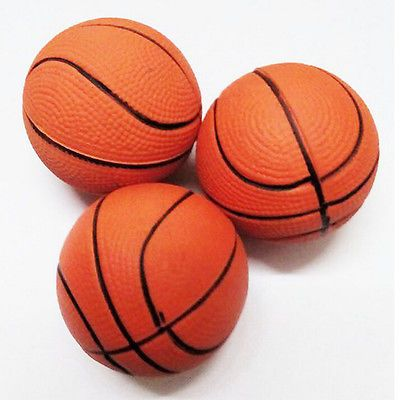 6.3cm #basketball hand #wrist #exercise stress relief squeeze soft foam ball jxuk,  View more on the LINK: http://www.zeppy.io/product/gb/2/131842133553/