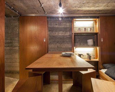 Un Bunker o refugio subterráneo convertido en casa de descanso. | Quiero más diseño