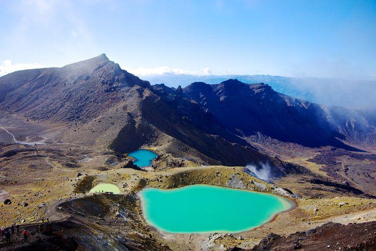 映画ロード・オブ・ザ・リングのロケ地にもなった世界遺産『トンガリロ国立公園』