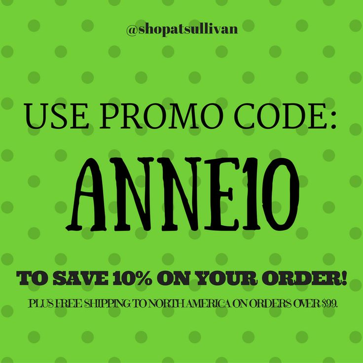 Want to save even more on your Shop at Sullivan purchase? Use the promo code: ANNE10 to save 10% on all orders. Don't forget: you can also enjoy free shipping to North America when you spend $99 or more. #shopatsullivan #sullivanentertainment #anne #classics