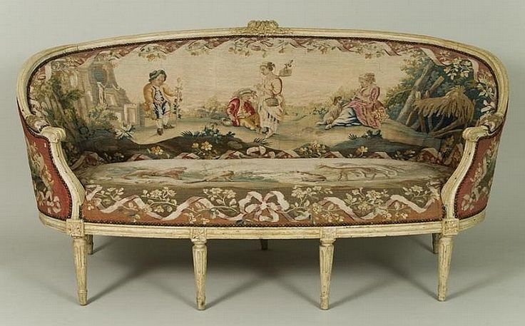 17 best images about antique sofas beds on pinterest louis xvi day bed - Canape style vintage ...