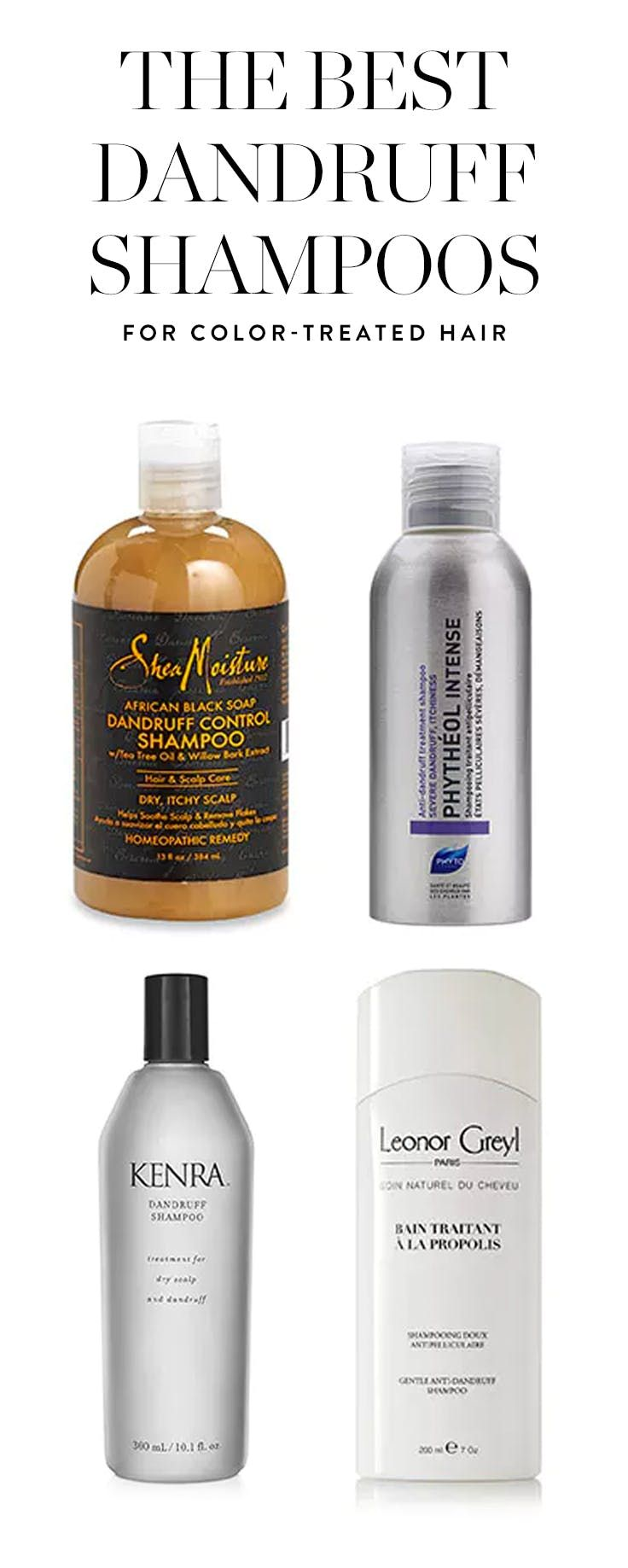 Sweet Relief The Best Dandruff Shampoos For Color Treated Hair
