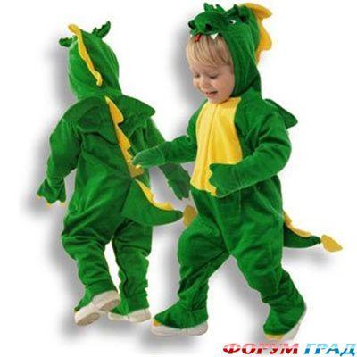 Динозавры и драконы - Костюм в виде животного попробуем сшить и его необычностью всех удивить - Форум-Град