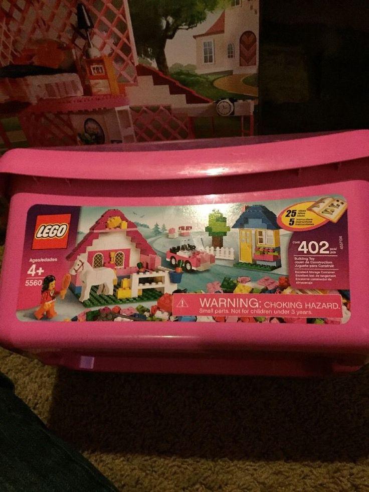 Lego Pink Brick Box Large Style# 5560  | eBay