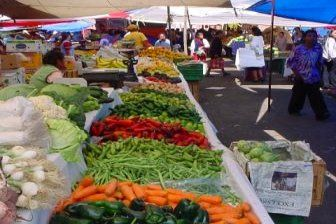 Stimulate all of your senses while exploring the colorful local market in Jilotepec…