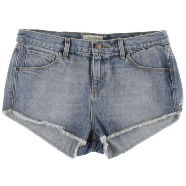 Zara Basic Womens Denim Casual Cutoff Shorts