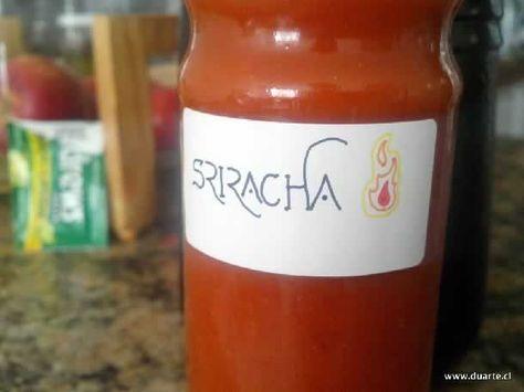 Receta de la salsa Sriracha, salsa picante de origen tailandés