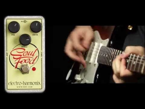 EHX Soul Food Demo - #Guitar #Gear #Effects #TXBA