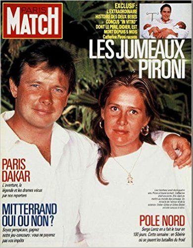 Catherine Pironi et Didier Pironi
