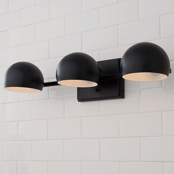 Just Enough Retro Vanity Light Modern Vanity Lighting Black Bathroom Light Modern Bathroom Vanity Lighting
