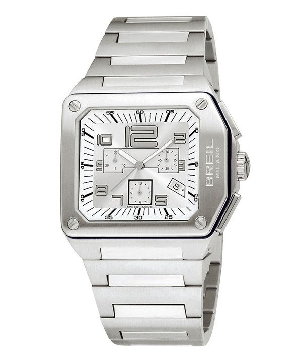 Look at this #zulilyfind! Breil Silver Logo Chronograph Watch - Women & Men by Breil #zulilyfinds