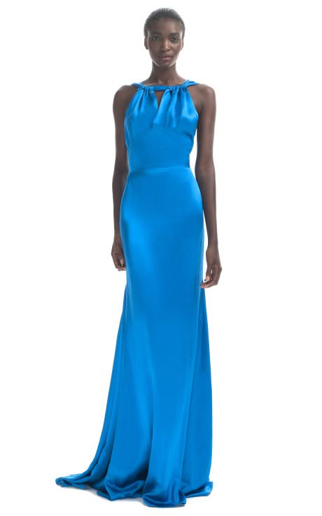 Loving any dress that looks like one should lay on a chaise longue and sip a martini
