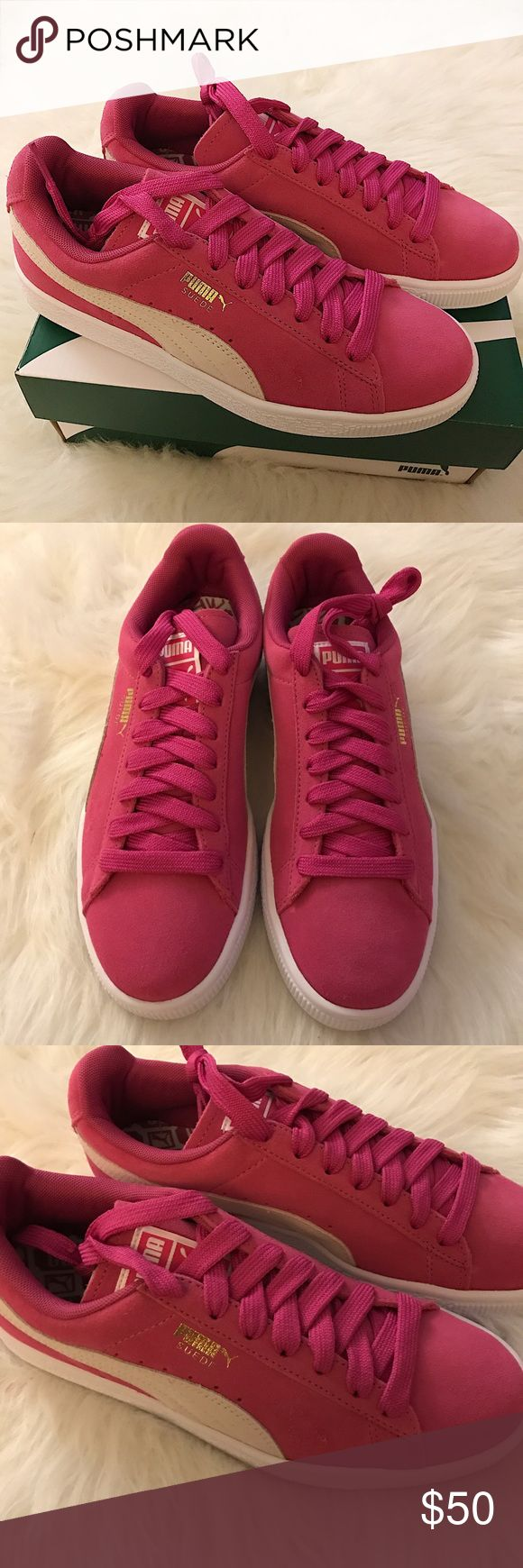 Women's Puma Suede Classic Sneakers Brand new with box. Puma Shoes Athletic Shoes