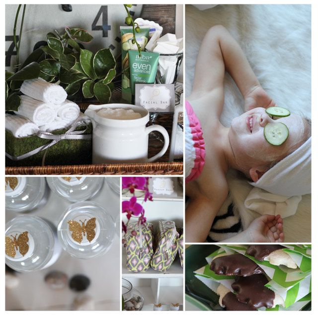 how to make a homemade spa day