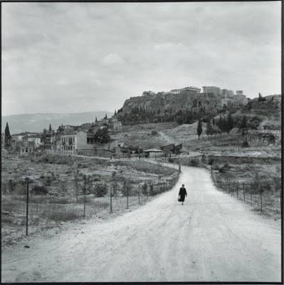 1955 ~ Athens Acropolis walk (photo by Robert McCabe)