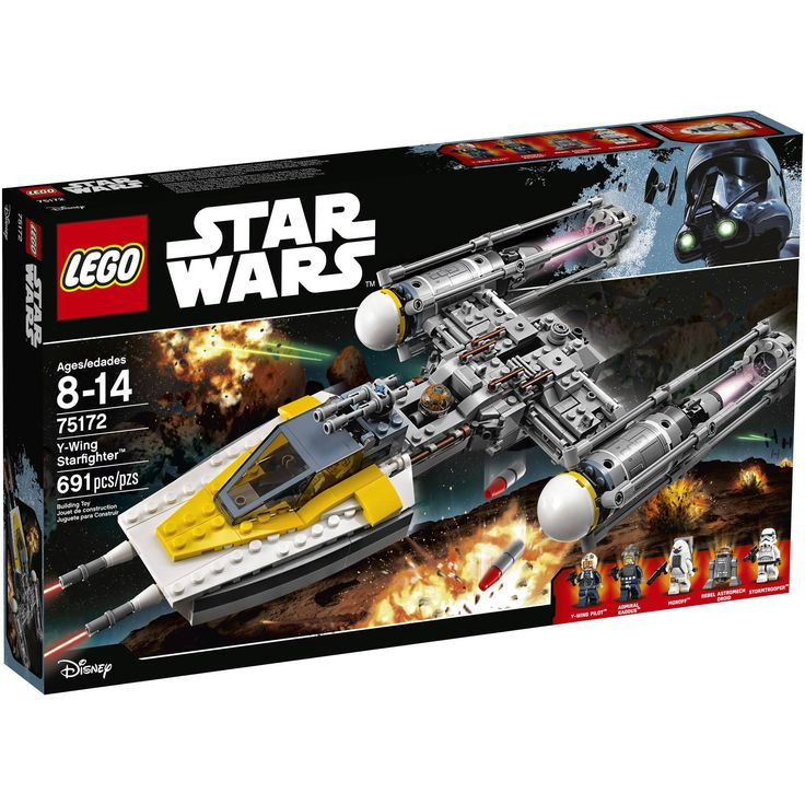 LEGO Star Wars Y-... is now available at our store.  Check it out:  http://brishan.com/products/lego-star-wars-y-wing-starfighter-75172-expand-your-rebel-fleet-new-free-ship?utm_campaign=social_autopilot&utm_source=pin&utm_medium=pin