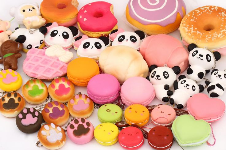 Silly Squishies Squishy Collection : 1000+ images about ?Squishies? on Pinterest Sprinkle donut, Kawaii shop and Donuts