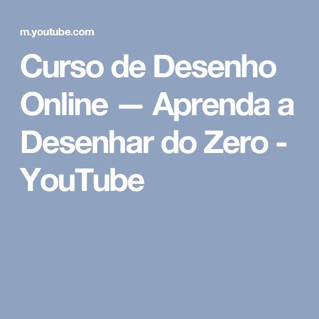 Curso de Desenho Online — Aprenda a Desenhar do Zero - YouTube