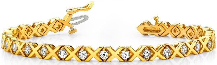 Diamantarmband mit 1.00 Karat Diamanten aus 585er Gelbgold bei www.diamantring.be für nur 1999.00 Euro Versandkostenfrei bestellen.